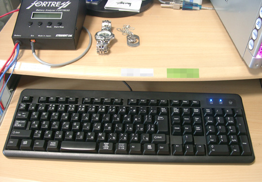 2008.6.22ELECOMキーボード