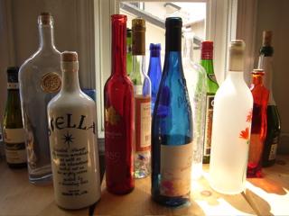 モチーフ瓶いっぱい