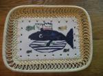 りんりのクジラ皿