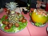 ネムザンとグレープフルーツサラダ
