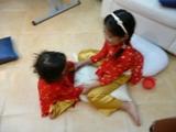 アオザイ姉妹