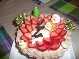 我が家のクリスマスケーキ