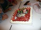 クリスマス会の特大ケーキ!