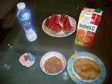 27日の朝食