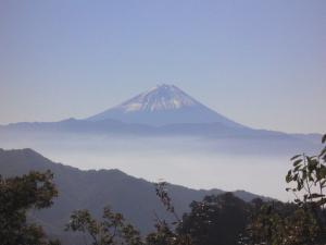 富士山 昇仙峡より