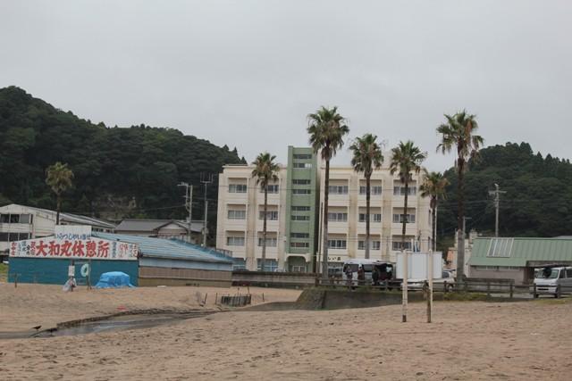 砂浜歩こうね