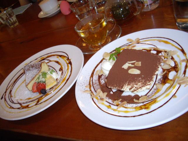 ティラミス&チーズケーキ