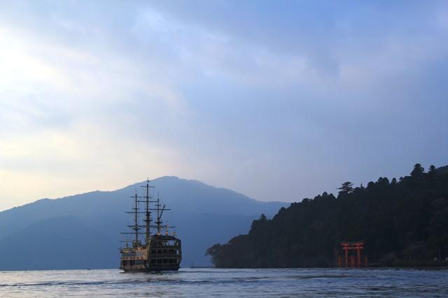 海賊船が行きました