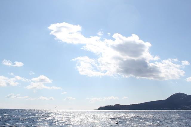 青々とした空とキラキラな海