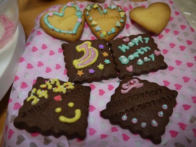 センスあるデコクッキーかわいい