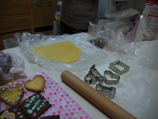 シンプルクッキー焼いてデコします