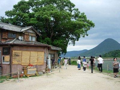 松井製麺所とさぬき富士