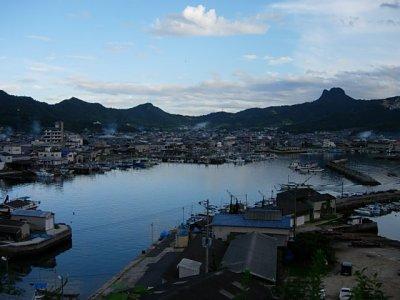 庵治町の漁村
