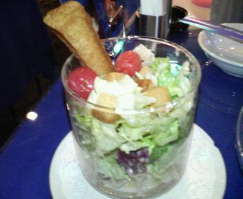 クルトンのシーザーサラダ
