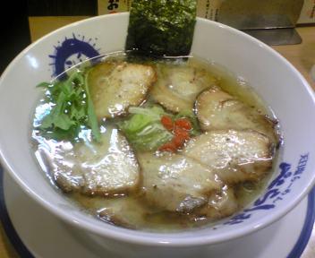 炙りチューシュー麺