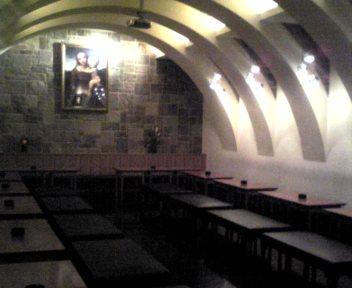 教会風の部屋