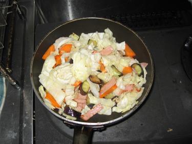 野菜炒め0001