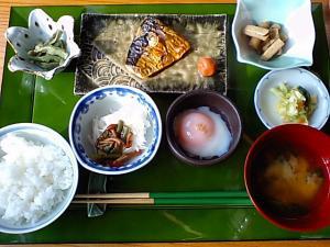 猿倉 朝ご飯