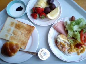 メトロポリタンの朝食