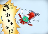 流れ雛(爆)
