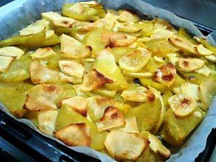 お芋とりんごのすいーつ