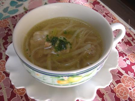 豚バラ大根コンソメスープ