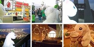 イカ踊りと夜景と函館ビール