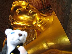タイの涅槃物と俺様