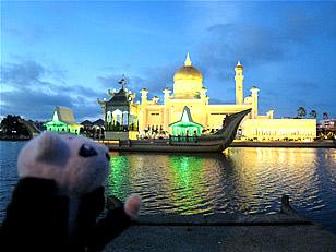 ブルネイのオールドモスクと俺様