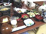 藤七温泉 夕食
