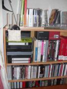 PC横の棚