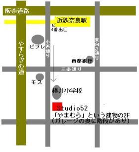 nara map s