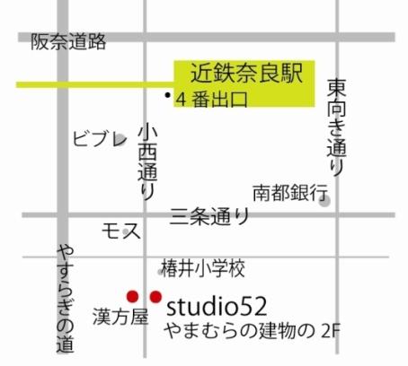 奈良教室地図