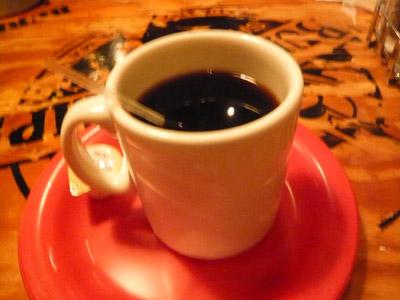ババ・ガンプのホットコーヒー