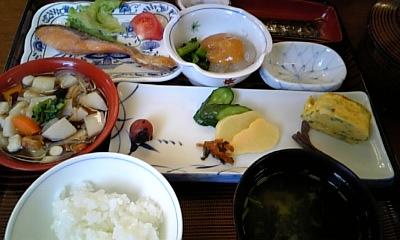 喜多方:グリーンホテル朝食1