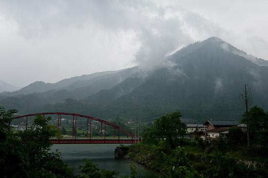 阿寺渓谷遠景