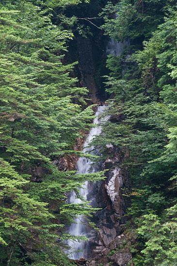 阿寺渓谷吉報の滝