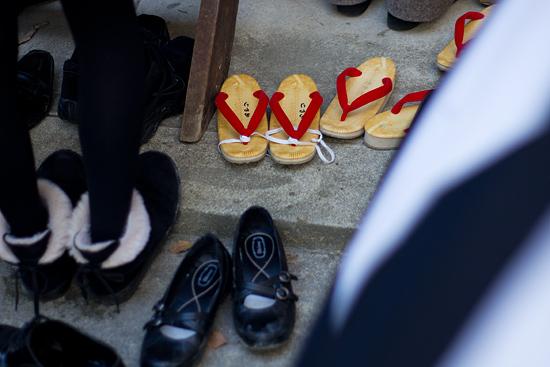 きねこさ祭草履と靴