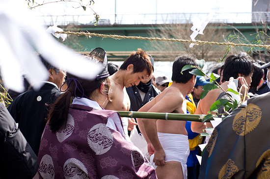 きねこさ祭川祭りの役者