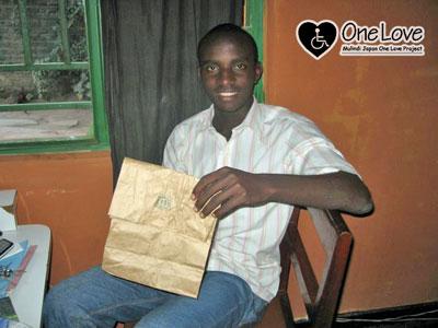 ルワンダ紙袋