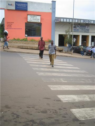 ルワンダ道路事情