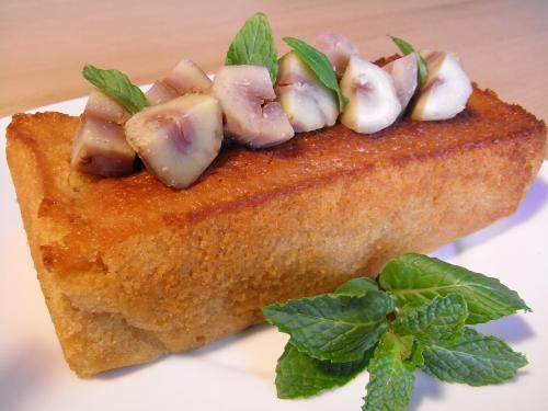 栗のブランデーケーキ