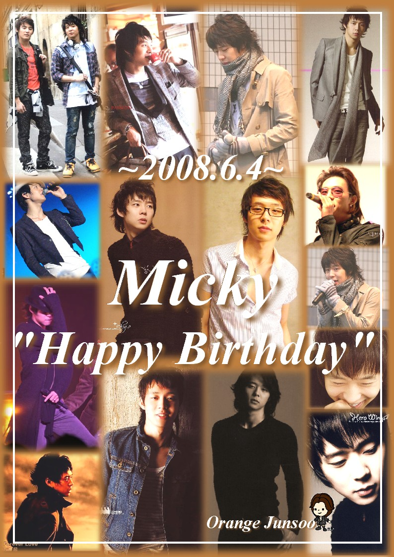 Micky Happy Birthday