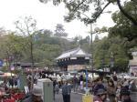 高知城と日曜市