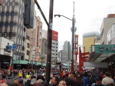 東京マラソンとスカイツリー