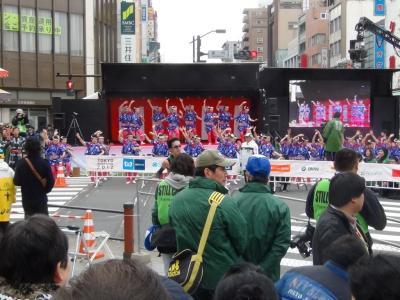 東京マラソン かっぽれ