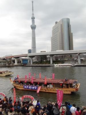 江戸流しびなと東京スカイツリー
