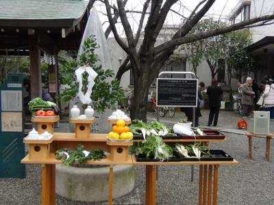 香取神社 亀戸大根収穫祭2