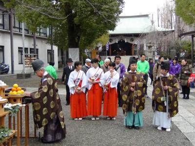 香取神社 亀戸大根収穫祭1