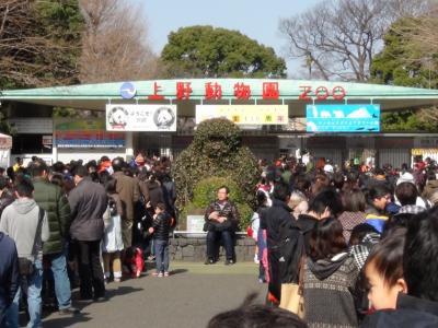 上野動物園エントランス